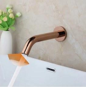 Minimalistická senzorická batéria do umývadla - 2 farby Ružovo-zlatá