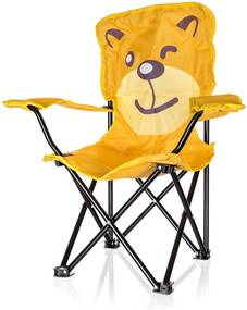 Happy Green Detské skladacie kreslo Medveď