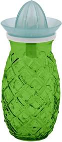 Zelený pohár s odšťavovačom Esschert Design Ananas, 0,7 l