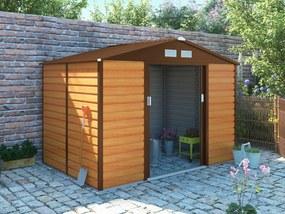 G21 Záhradný domček GAH 529 - 277 x 191 cm, hnedý