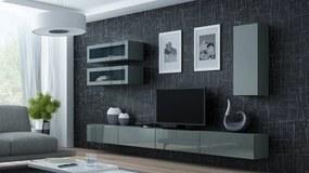 CAMA MEBLE Obývacia stena VIGO 11 Farba: sivá