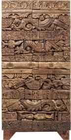 KARE DESIGN Skriňa Shanti Surprise Puzzle Nature dvojdverová