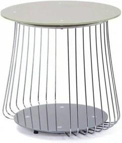 Sconto Prístavný stolík RIVOLI ø 50 cm