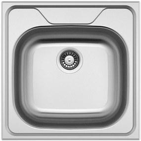 Sinks nerezový drez CLASSIC 480 V leštený