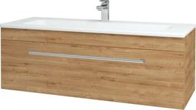Dřevojas - Koupelnová skříň ASTON SZZ 120 - D09 Arlington / Úchytka T03 / D09 Arlington (109585C)