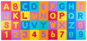 Bestent Penové puzzle - náučný koberec 120 x 270 X 1,1 cm Ricokids 36ks