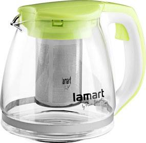 Kanvica na čaj Verre LT7026 Lamart zelená 1,1 l