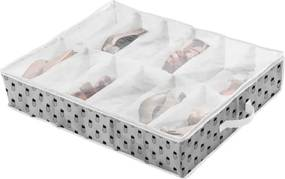 Úložný box na topánky so vzormi ananásov Compactor