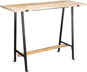 Konzolový stôl Jose, 140 cm, masívne drevo