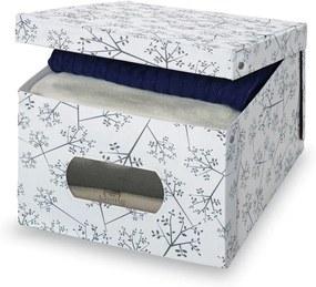 Úložný box Domopak Bon Ton, výška 24 cm