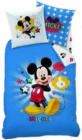 CTI, Francúzsko Detské obliečky Mickey Star, Rozmer 1x70x90 / 1x140x200 cm