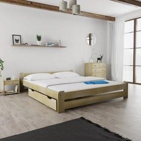 Maxi Drew Zvýšený úložný box pod posteľ 150 cm, borovica