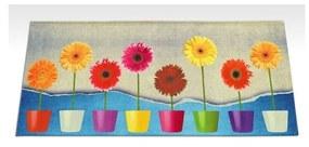Vysokoodolný kuchynský koberec Webtapetti Flower Power, 60 × 115 cm