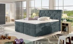 Manželská boxspring posteľ Bary 140x200 cm 11