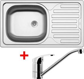 Akčný set Sinks CLASSIC 760 M matný + batéria PRONTO