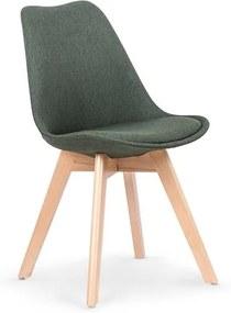 Jedálenská stolička K303 Halmar zelená
