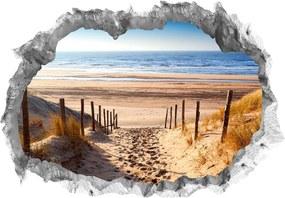 Wandtatto Wandtattoo Fototapeta 3D kámen Pláž lepící |Nálepka na zeď|