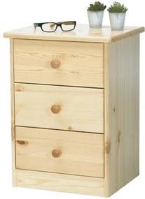 Sconto Komoda/nočný stolík ROLAND borovica