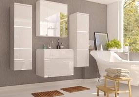 PORTA kúpeľňová zostava, biely lesk