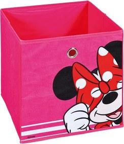 Úložný box Minnie 2, ružový