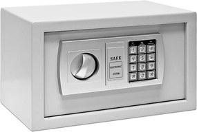 Bezpečnostný trezor Defer - 31x20x20cm - sivý