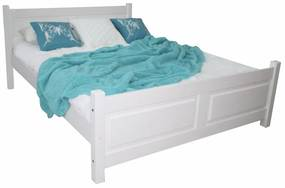 MD Manželská posteľ Etela - biela Rozmer lôžka: 140x200