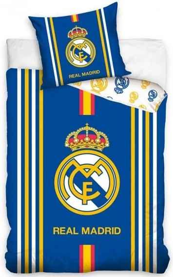 1b995520fa659 Carbotex · Bavlnené posteľné návliečky FC Real Madrid - Centro Amarillo -  70 x 90 +