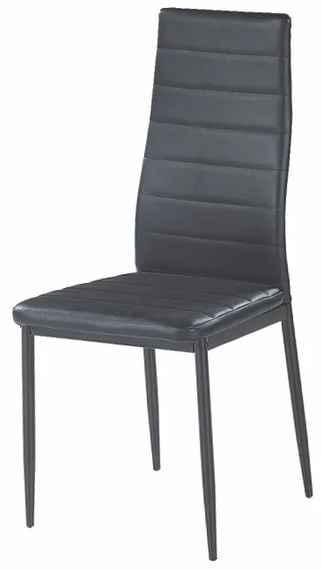 2f92984e239f TEMPO KONDELA Coleta New jedálenská stolička čierna