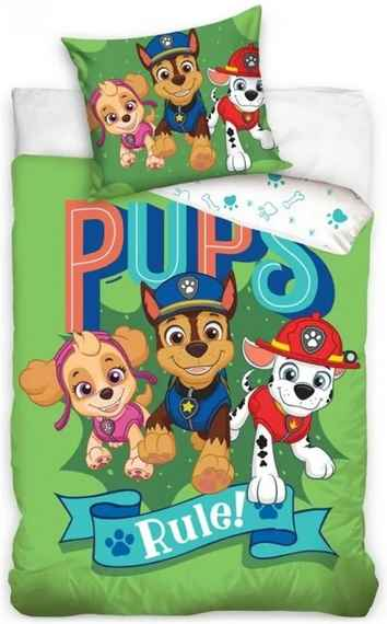 6f6565c4deaeb Carbotex · Obliečky do detskej postieľky Tlapková patrola - Paw Patrol -  motív Pups Rule!