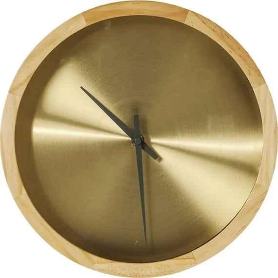1c3f0450f KARE DESIGN Nástenné hodiny Edge Ø29 cm zlaté