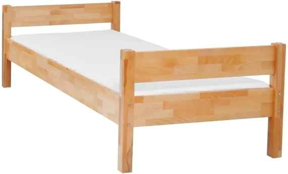 e9328184f117 Detská jednolôžková posteľ z masívneho bukového dreva Mobi furniture Mia