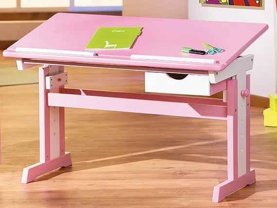 06786bbebc29 Výškovo nastaviteľné detské písacie stoly