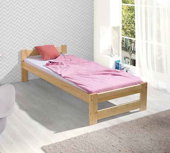 83aac8b87329 LTD M 200x90 detská posteľ - viac farieb Farba  Borovica