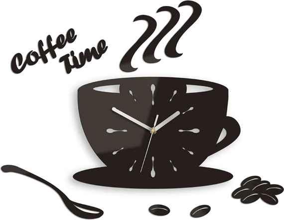 3897c3ea0ec Moderné nástenné hodiny Cup Clock NH015