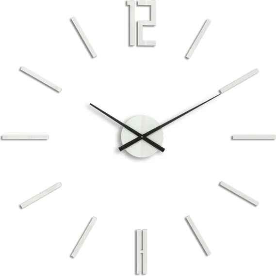 4fe627932ba Moderné nástenné hodiny CARLO WHITE HMCNH057-white