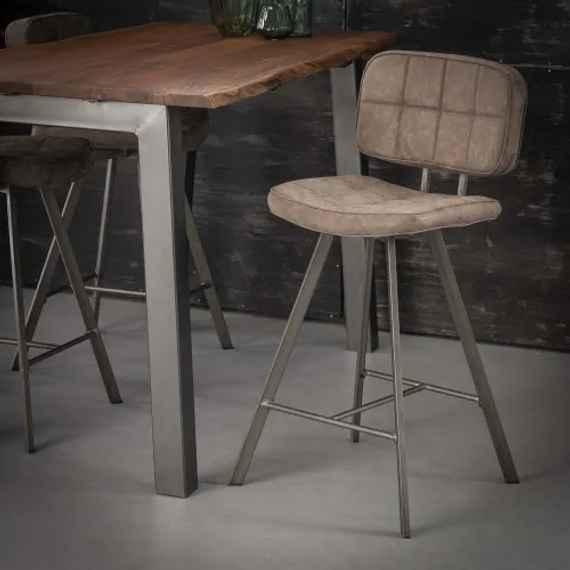 db81cebf5fdac Čierne nerezové barové stoličky | Biano