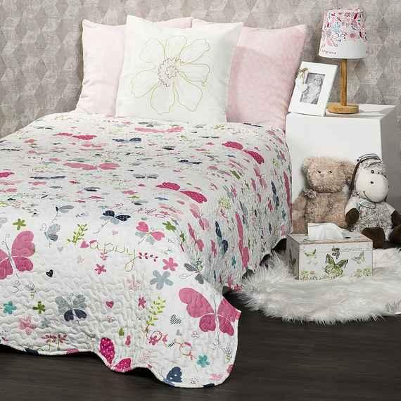 576696aee7ece 4Home Detský prehoz na posteľ Butterfly, 140 x 200 cm