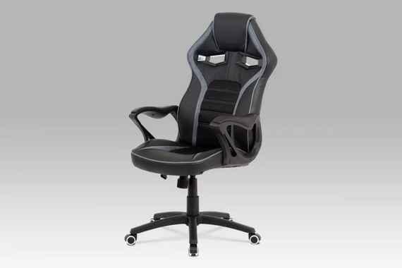 96569d998 Kancelárska stolička KA-G406 GREY čierna / sivá AUTRONIC