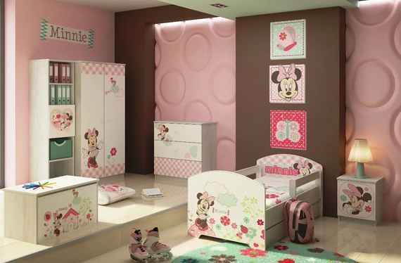 97eb1a9b7850 MAXMAX Detská izba Disney MYŠKA MINNIE - posteľ k zostave pre dievča ÁNO