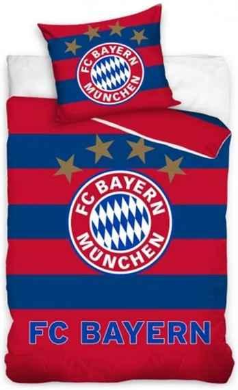 38bc33be9 Carbotex · Futbalové posteľné obliečky FC Bayern Mnichov - 100% bavlna - 70  x 80