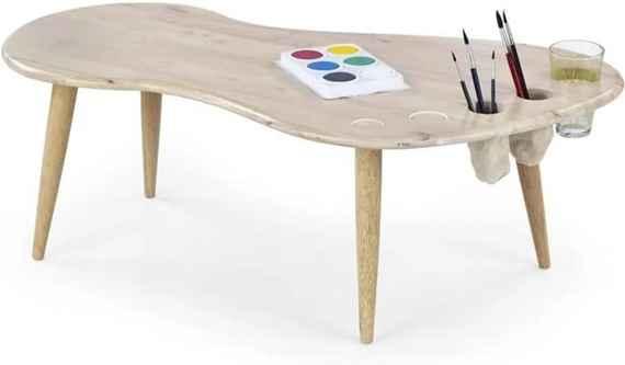 9415f6d5e4ea Detský stôl Jamaica - bielené drevo Jamaica - bielenej drevo