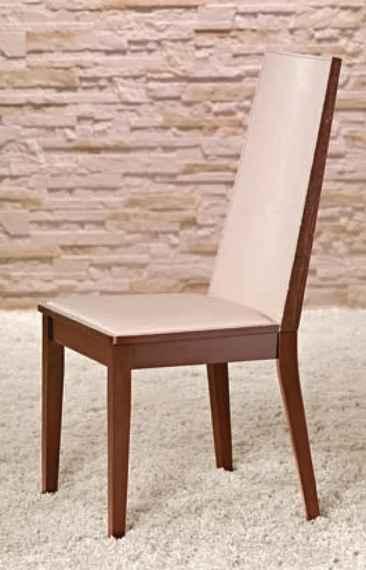 e776887c7fc6 HALMAR Vicente jedálenská stolička čerešňa   krémová