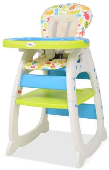 6787e6fb7d54 Vysoká detská jedálenská stolička s pultíkom 3-v-1