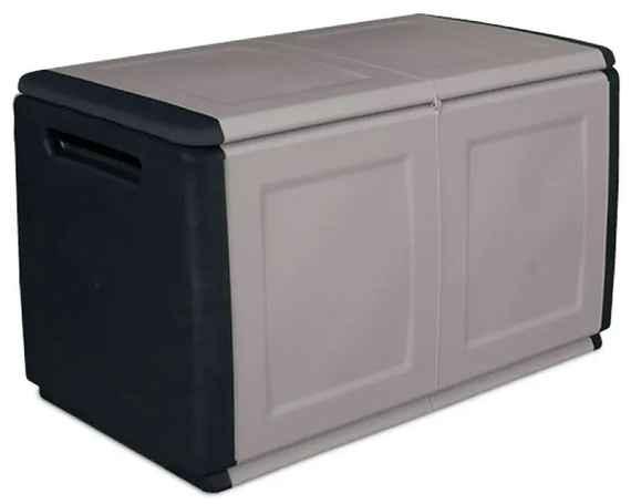 74f0ba40a6220 Artplast Plastový odkladací box s vrchnákom, 960x570x530 mm, sivý