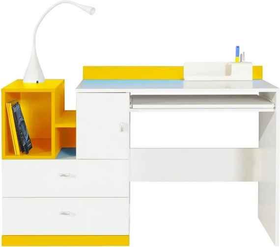 199f8c9b5f3d Výškovo nastaviteľné matní detské písacie stoly so zásuvkou