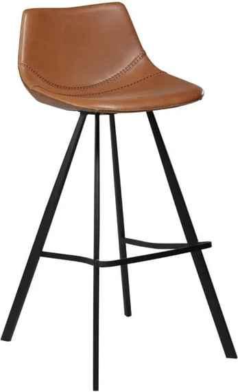 7544b0c4a306 Svetlohnedá barová stolička DAN-FORM Denmark pITCH