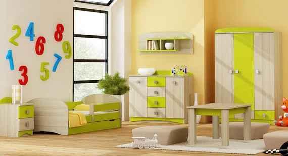 b1fbbd0d2cbc MAXMAX Detská izba APPLE - posteľ k zostave - 7 farieb pre dievča