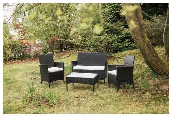 efd539ba45bbe Set záhradného nábytku z umelého ratanu Timpana Filia