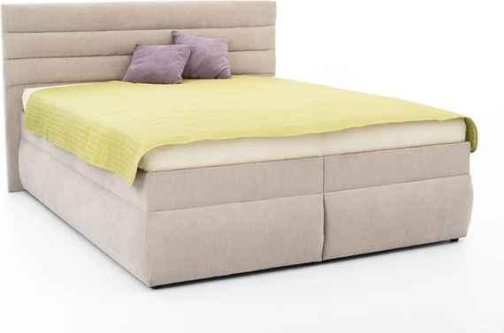 8872d82cf40f7 DREVONA03 Manželská posteľ 180 cm šedo béžová LUNA 1, Orinoco 23