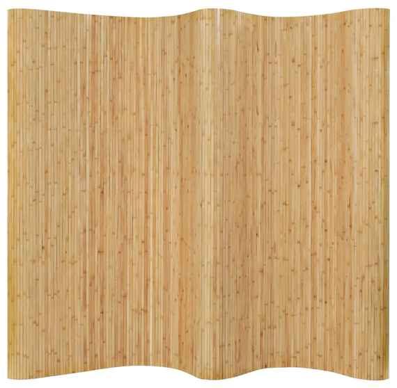 8136c90868bf Paraván z bambusu 250x195 cm prírodný
